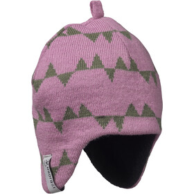 Isbjörn Eaglet Knitted Cap Barn dusty pink